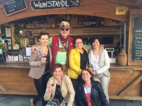 Weinstandl am Stefflkirtag 2016